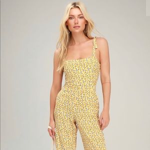 NWT Faithfull The Brand Frankie Jumpsuit